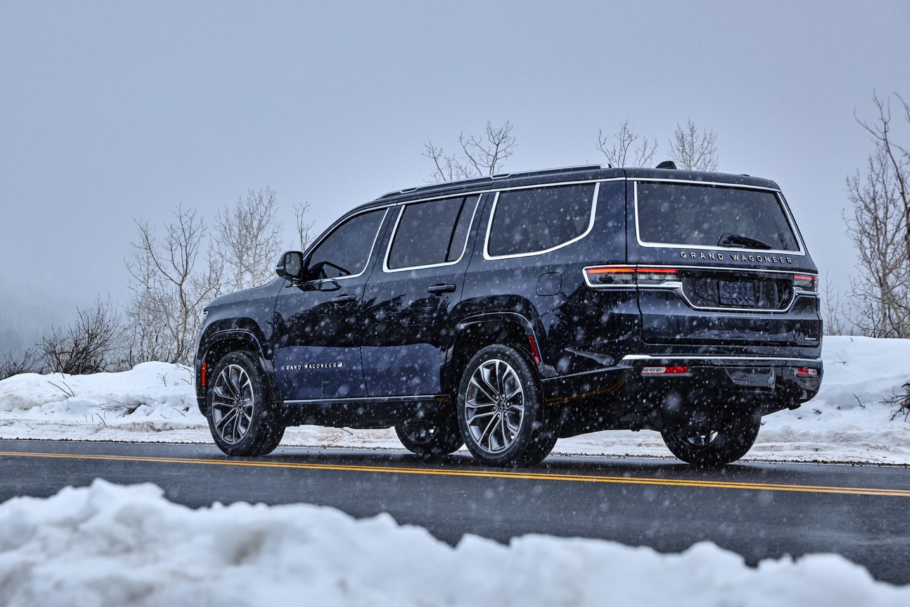 У нового Jeep Wagoneer появится длиннобазная версия