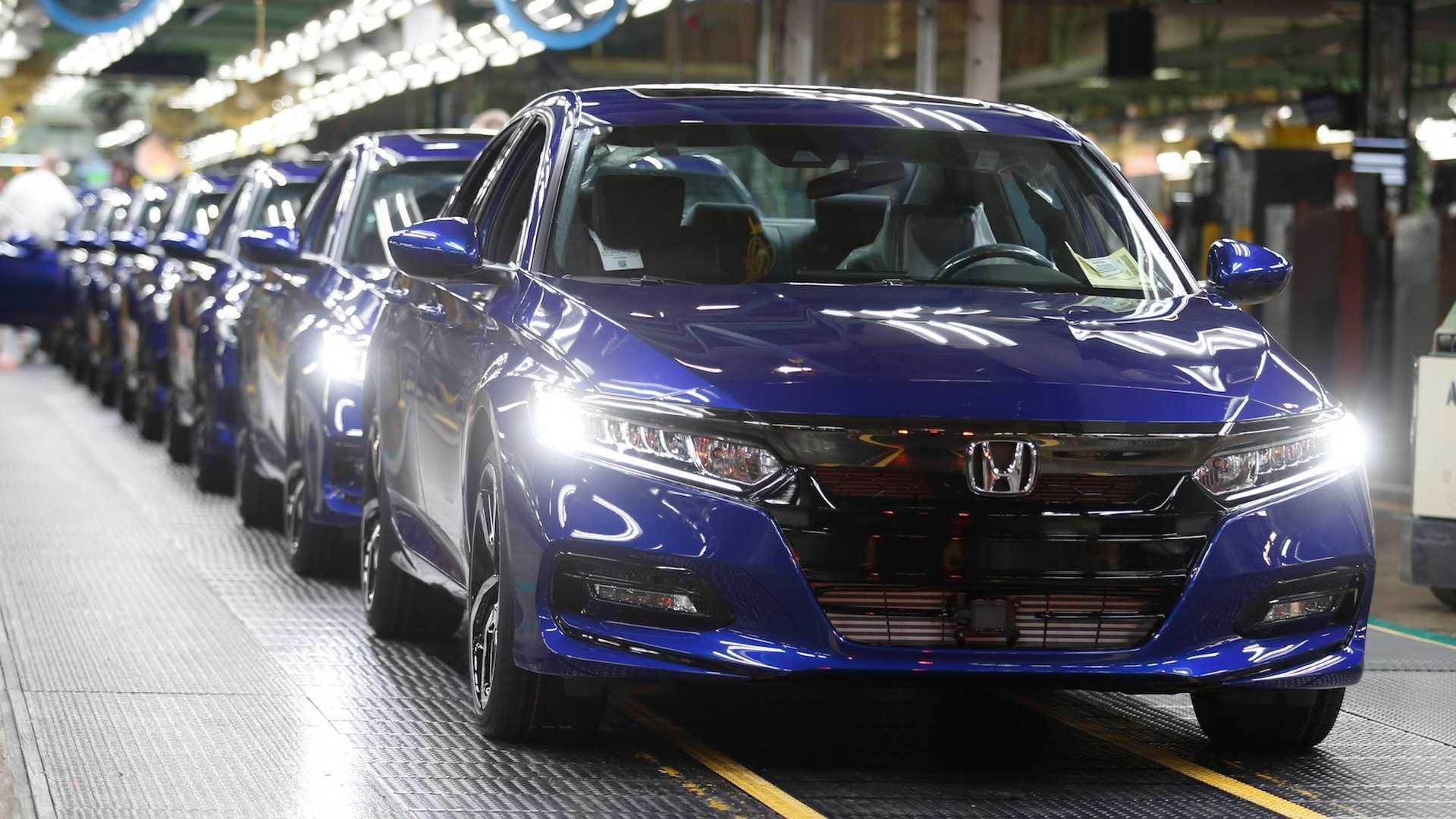 Honda остановит производство из-за плохой погоды и дефицита электроники