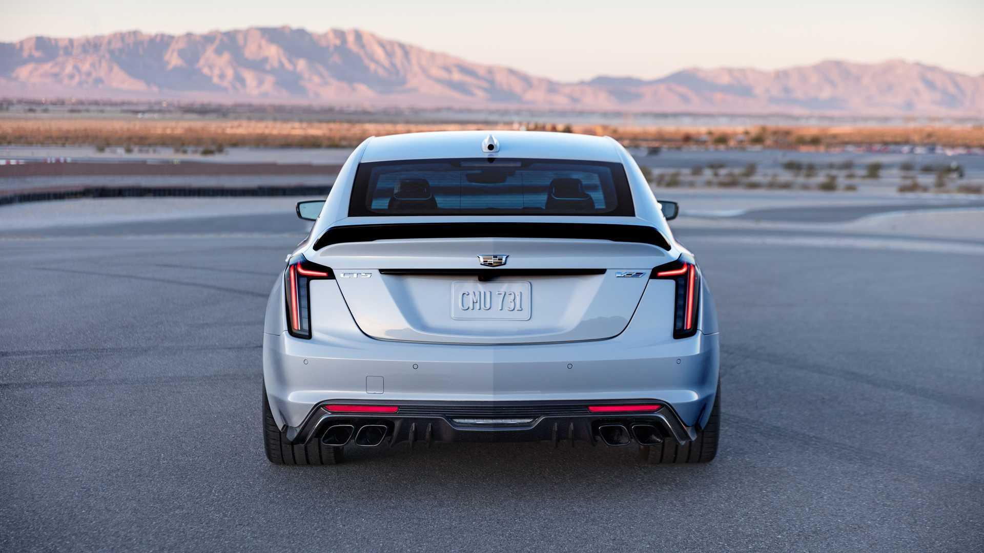 Моторы для Cadillac CT5-V Blackwing будут собирать вручную
