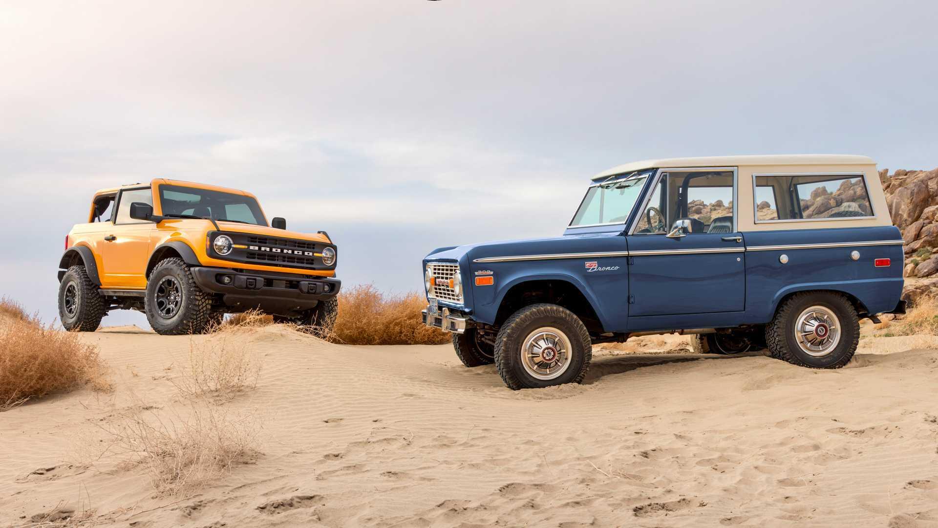 Jeep заставил Ford перестать называть Bronco лучшим в классе