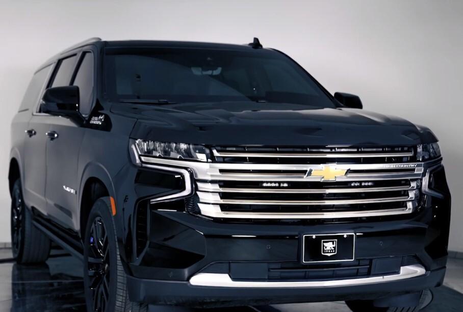 Семейный бункер на колёсах: Chevrolet Suburban превратили в броневик