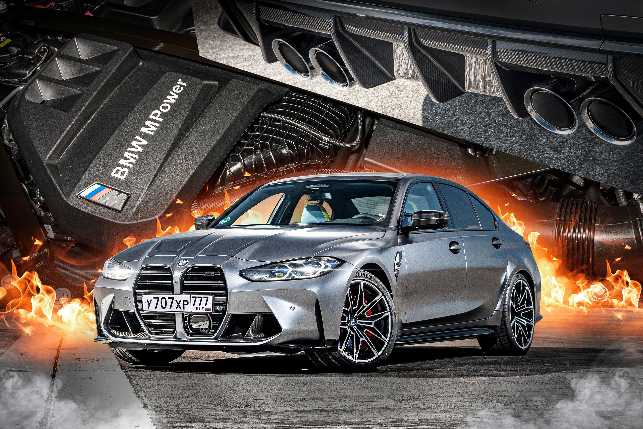 Новый BMW M3: с широко раскрытыми ноздрями
