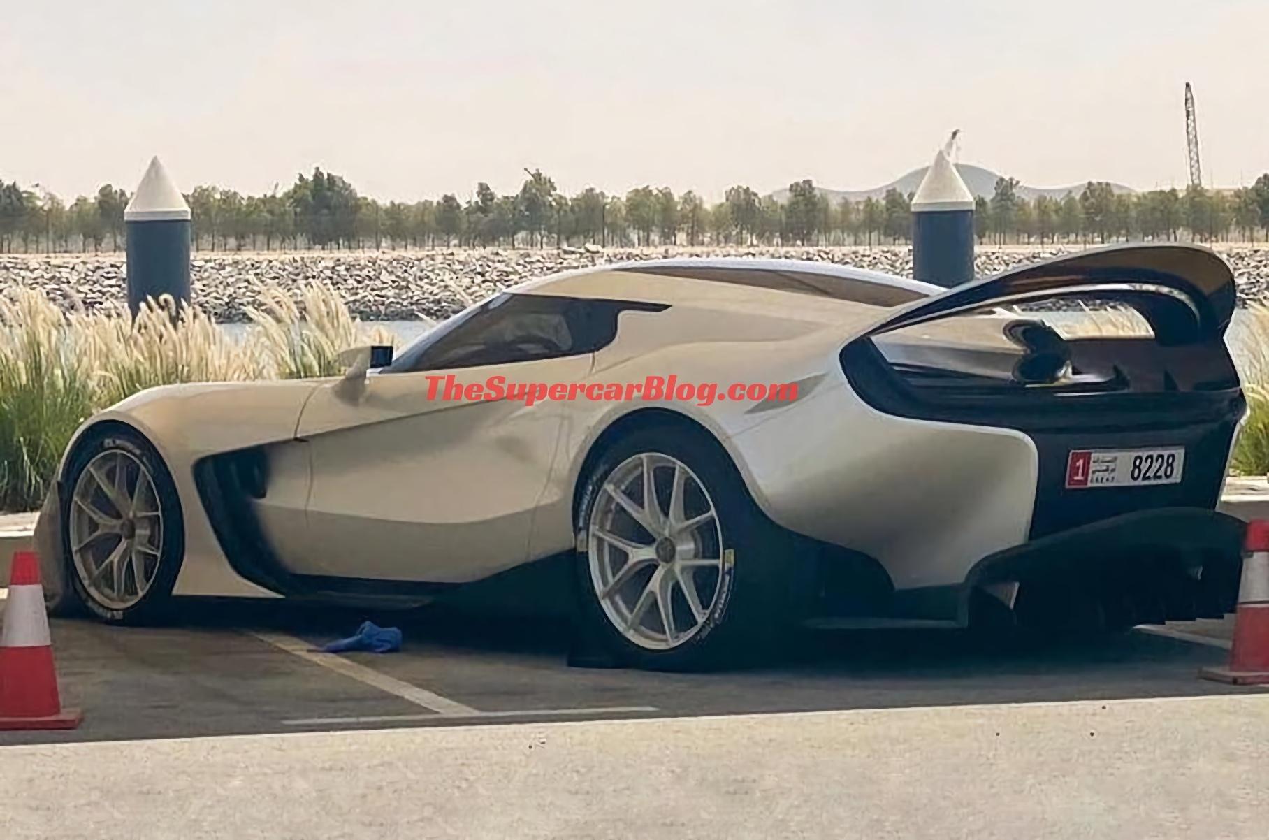 В Абу-Даби сфотографировали неизвестный Ferrari