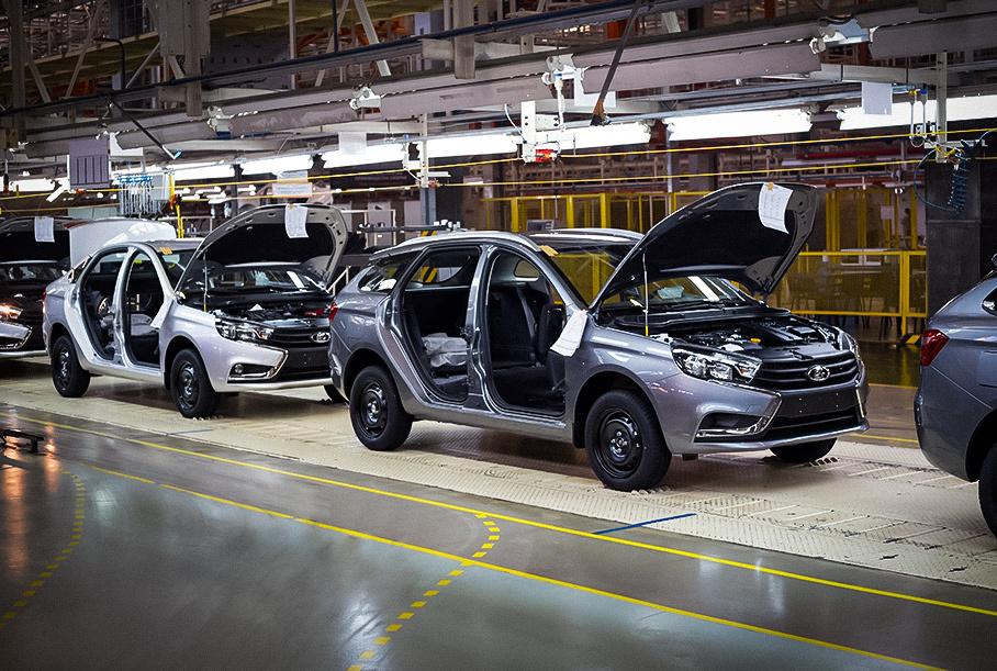 АвтоВАЗ начнет выпускать электрокары и гибриды на новой платформе