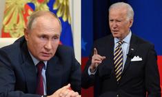 «Будьте здоровы»: что Владимир Путин ответил на обвинения Джо Байдена