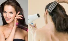 Как правильно сушить волосы: видеосоветы от стилиста