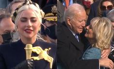 Гимн от Леди Гаги, крики Лопес на испанском, речь в честь супруги: как прошла инаугурация Джо Байдена