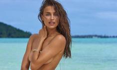 Грудь вперед: Ирина Шейк умела позировать в белье на старте модельной карьеры 15 лет назад