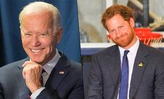 Лучший друг президента: Джо Байден повесил в Белом доме большую фотографию принца Гарри