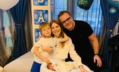 Наталья Подольская и Владимир Пресняков крестили сына Ивана