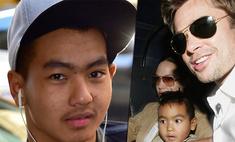 Питтом бит: Мэддокс Джоли дал показания против своего отца Брэда и отказался от его фамилии
