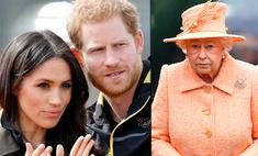 «Ей его очень жаль»: королева не пришла в себя после шок-интервью Гарри и Меган