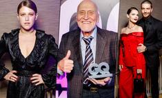 Премия «100 самых стильных»: триумф Дроздова, танцы Шмыковой, поцелуй Боярской и Матвеева