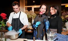 Пир с французским акцентом: Кабо, Ягудин, Чехова и другие звезды научились готовить деликатесы