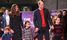 Кембриджи впервые вывели в свет всех троих своих детей одновременно