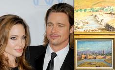 С глаз долой, из сердца вон: Анджелина Джоли выгодно продала картину Черчилля, подаренную Брэдом Питтом