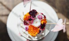 Готовим оригинальный весенний торт-букет