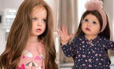 «Откуда у вас вообще парик?»: Анастасию Тарасову раскритиковали за то, что она примерила дочерям длинные волосы
