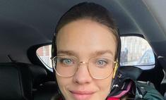 Зверский холод: Наталья Водянова показала детям настоящую Россию