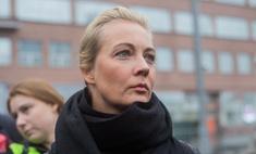 Юлию Навальную задержали в центре Москвы