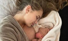 Чудо «ангела»: боровшаяся с бесплодием модель Роми Стрейд впервые стала мамой