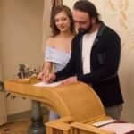 Илья Авербух и Лиза Арзамасова узаконили отношения