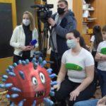 Журналисты федерального «Первого канала» выпустили сюжет о юных кисловодских мультипликаторах