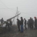 Ураган оставил без света более 52 тысяч жителей Дагестана