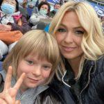 Яна Рудковская провела психологическую экспертизу сыну