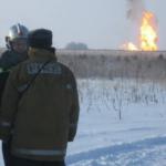 Мощный взрыв прогремел на газопроводе под Оренбургом