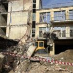 Часть стены в санатории обрушилась в Кисловодске