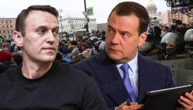 Итоги дня: Медведев против Навального, Бастрыкин против судей, претензии к генералам МВД на полмиллиарда