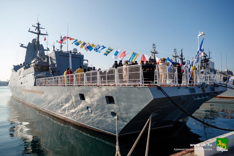 Новый корвет вошел в состав Тихоокеанского флота России