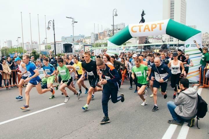 «Зеленый марафон» во Владивостоке: офлайн-забег по красивейшей набережной или онлайн из любой точки России