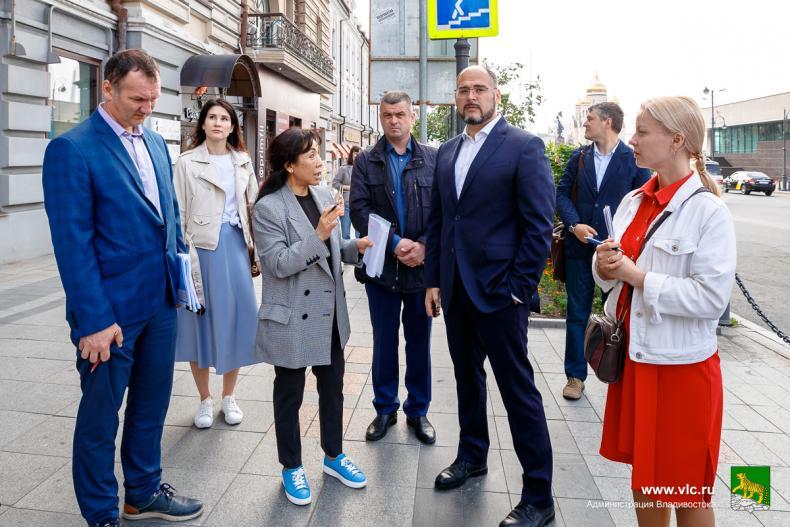 Необходимо сделать до осени: центр Владивостока преобразится за счет средств федерального бюджета
