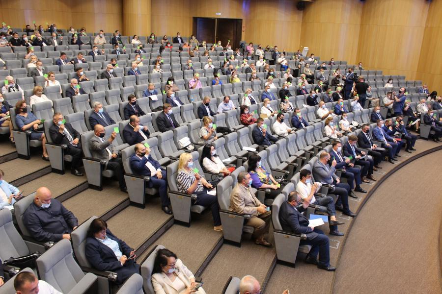 168 делегатов проголосовали за кандидатов «Единой России» на выборы в краевой парламент