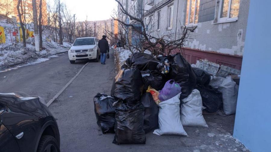 Во Владивостоке оштрафуют нерадивых перевозчиков мусора
