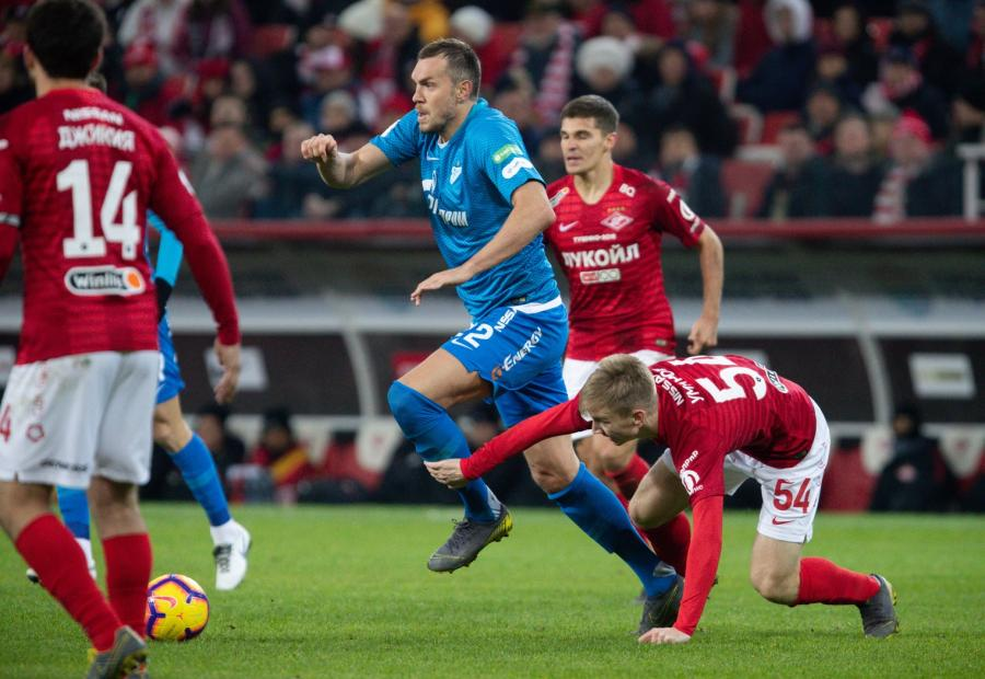 На матче «Зенит» – «Спартак» присутствовали только VIP-зрители