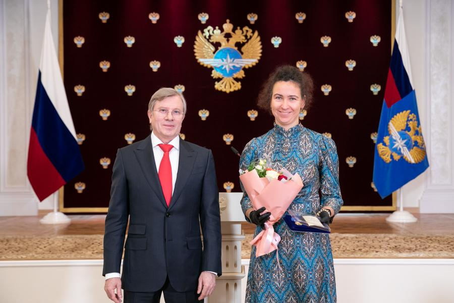 Сотрудникам ОАО «УГМК» и АО «Восточный порт» вручили награды Министерства транспорта РФ
