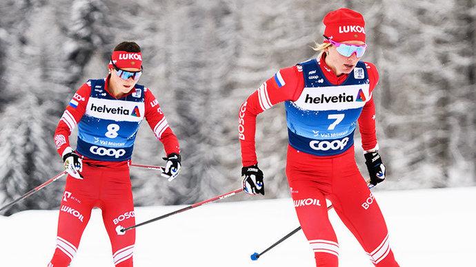 Объявлен состав женской сборной России по лыжным гонкам на ЧМ