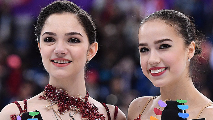 Загитова и Медведева выступят с показательными номерами на турнире в Москве
