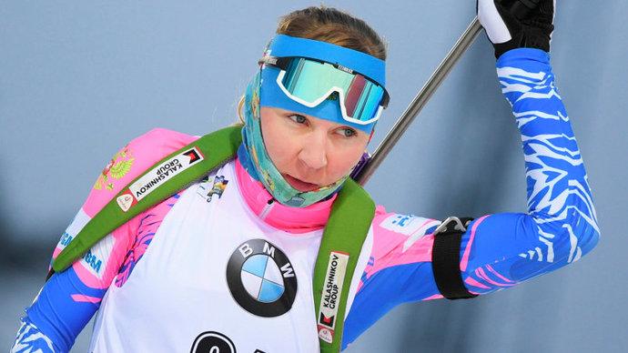 Экхофф выиграла спринт в Оберхофе, Павлова попала в цветы и показала лучший результат в сезоне