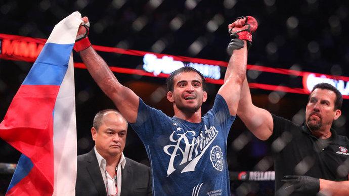 Корешков досрочно выиграл у Родригеса на AMC Fight Nights
