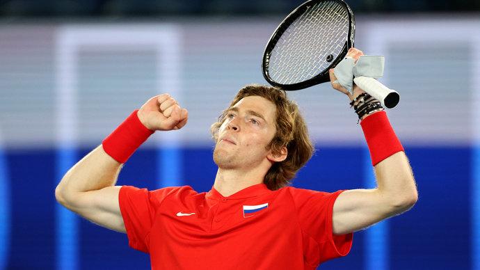 Рублев объяснил причины поражения от Медведева на Australian Open