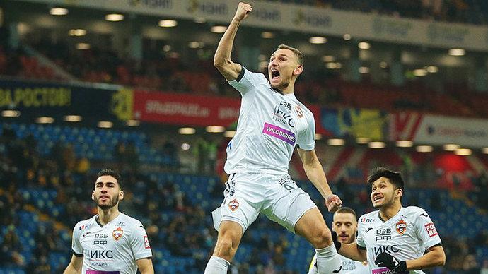 Скорострельный Федор Чалов забил лучший гол в 19-м туре Тинькофф РПЛ!