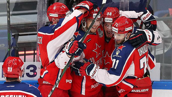Дубль Мамина помог ЦСКА переиграть «Локомотив»