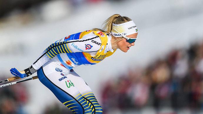 Карлссон избежала перелома после падения во время марафона