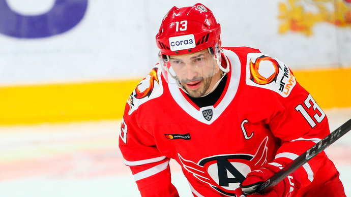 Дацюк стал самым возрастным автором гола в плей-офф КХЛ