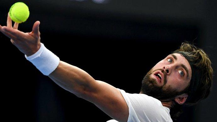 Басилашвили стал победителем турнира в Дохе