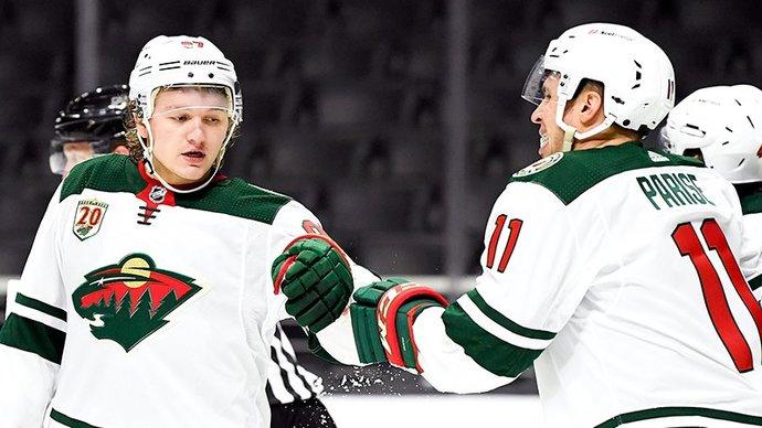 Капризов рассказал, как его близкие отреагировали на дебют в НХЛ